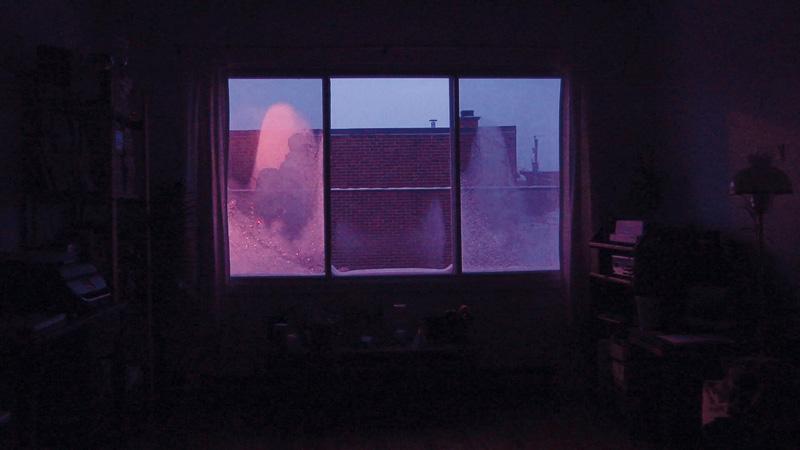 Janick Burn, Aubes, vues de l'exposition, photo : Guy L'Heureux, capture d'écran par l'artiste