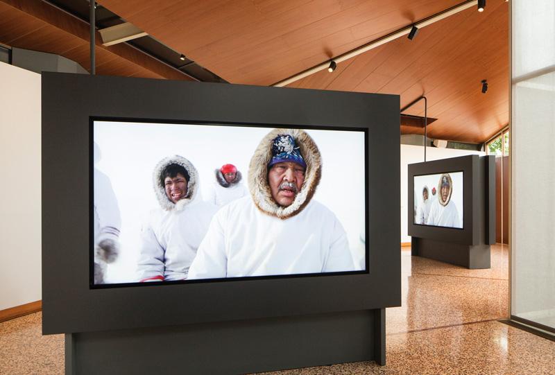 Isuma, pavillon du Canada, photo : Francesco Galli, Biennale de Venise