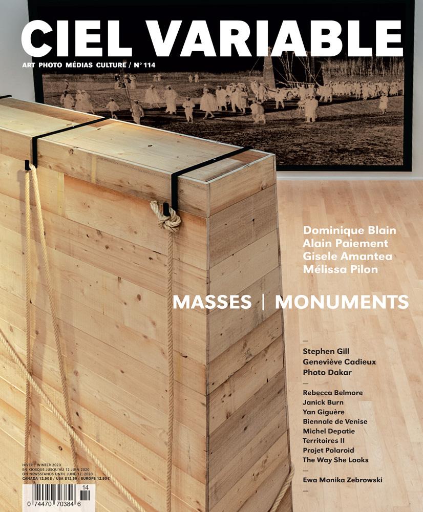 CIEL VARIABLE 114 - MASSES | MONUMENTS — Couverture / Cover