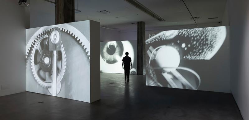 Les années musicales : 1920–2020, présentée par/presented by VOX, centre de l'image contemporaine. Vue d'exposition / exhibition view. Photo : Michel Brunelle