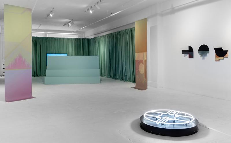 Virginie Laganière, Derrière l'horizon. Vues de l'exposition, photos : JeanMichael Seminaro