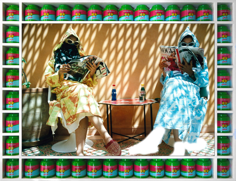 Hassan Hajjaj, Time Out, de la série / from the series Vogue: The Arab Issue, 2007