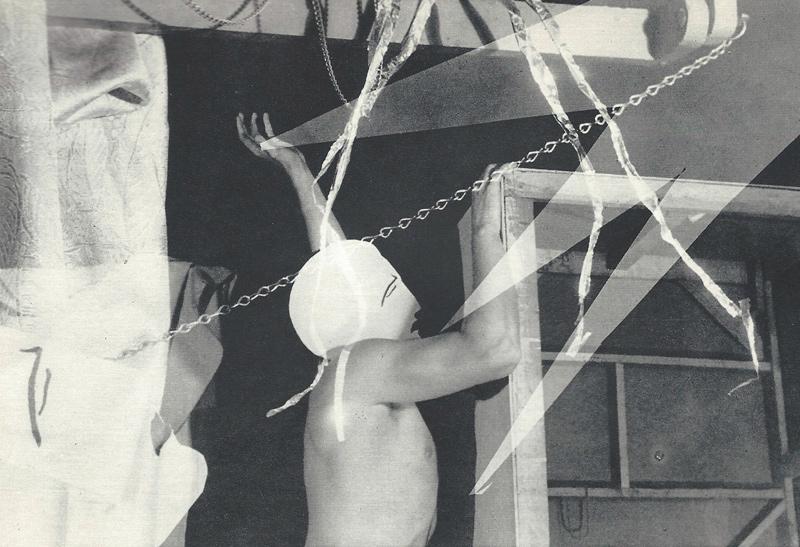 Évariste Desparois, Abstraction, de / from Ulf Hård af Segerstad « Surrealism än en Gång » Foto, no 1. Janvier / January 1949, p. 12-15