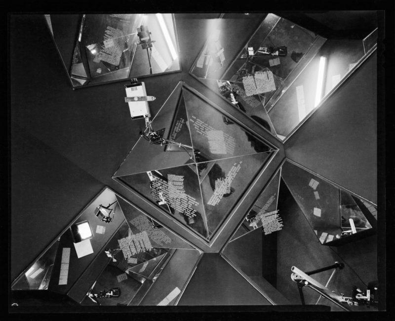 David Tomas, Eyes of China, Eyes of Steel, 1986, installation TOUTES LES PHOTOS / ALL PHOTOS: avec l'aimable autorisation de la famille TomasThériault
