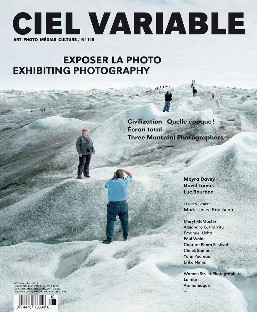 Ciel variable 118 - Exposer la photo   Exhibiting Photography (Couverture   Cover)